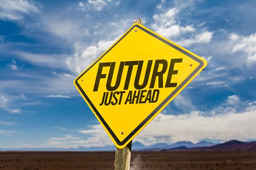 619522908 istock photo Future Just Ahead 833269498