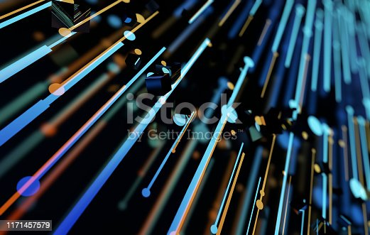istock Future network data technology, big data transmission and storage, future connectivity 1171457579