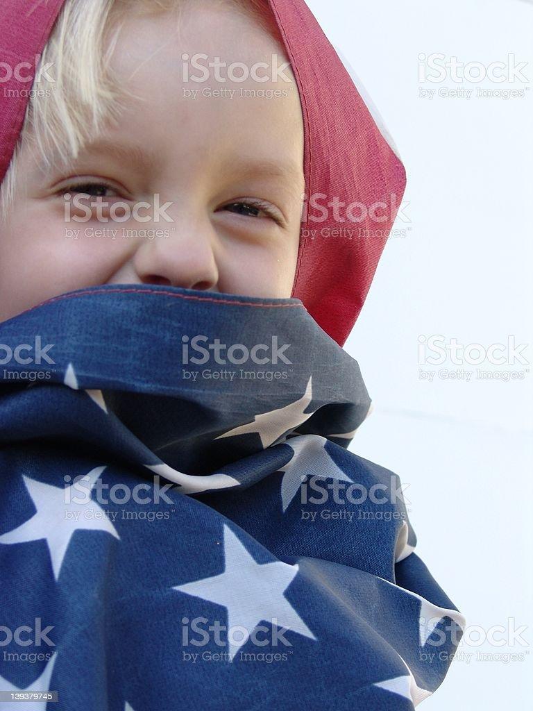 Future of America royalty-free stock photo