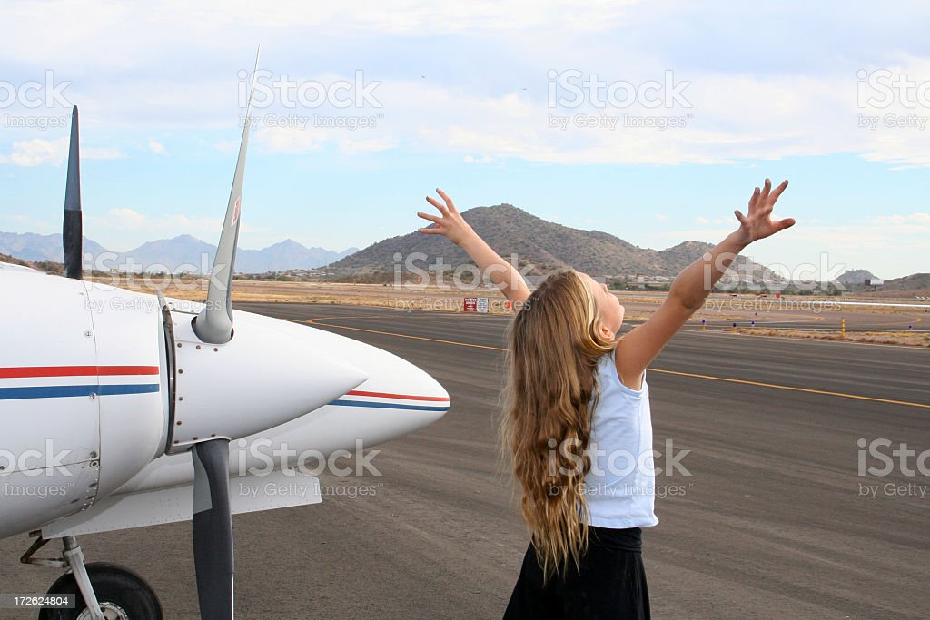 Future of Aviation royalty-free stock photo