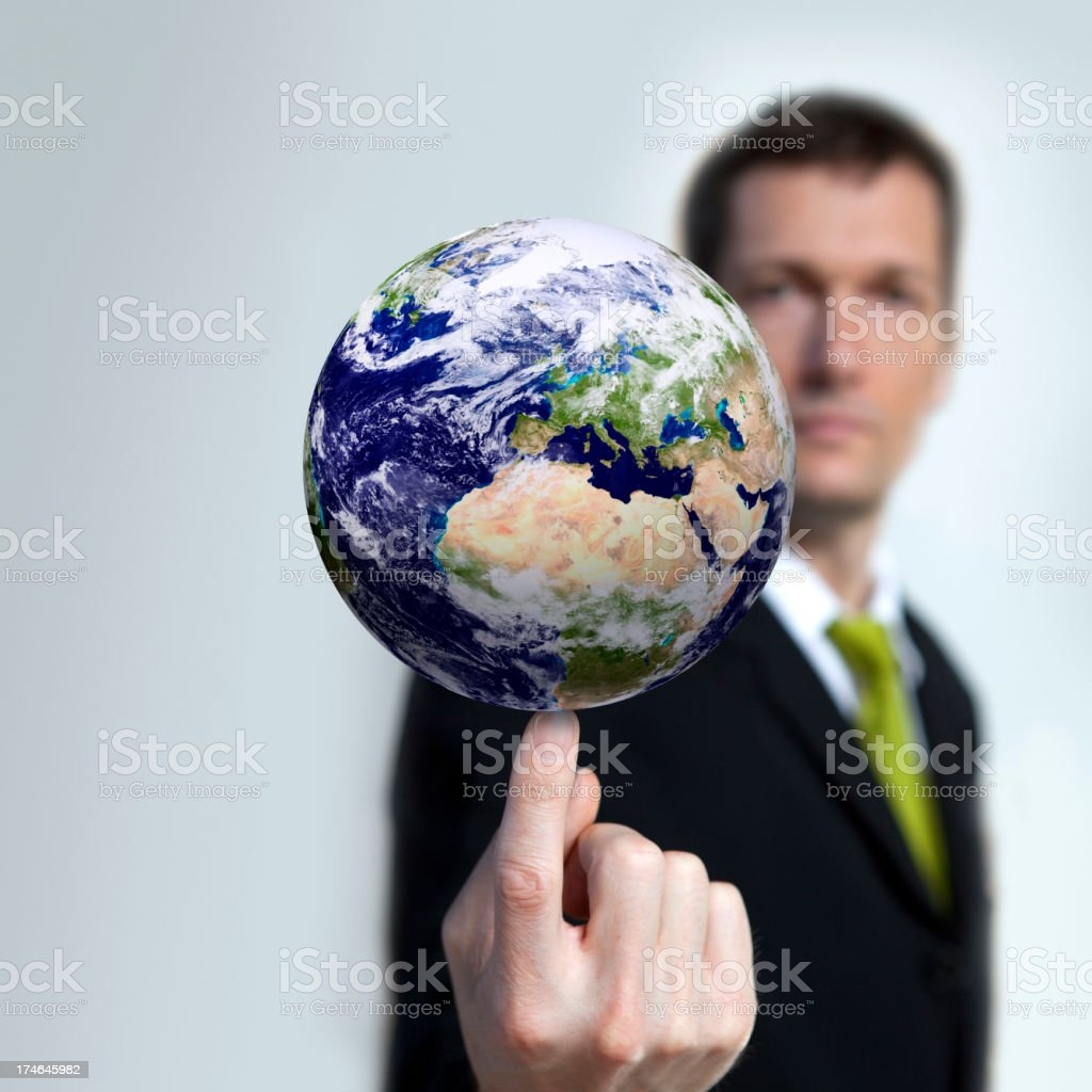 Future of Planet Earth in the Balance royalty-free stock photo