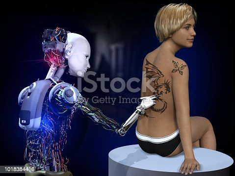 910163152 istock photo Future of Tattoo Art 1018384416