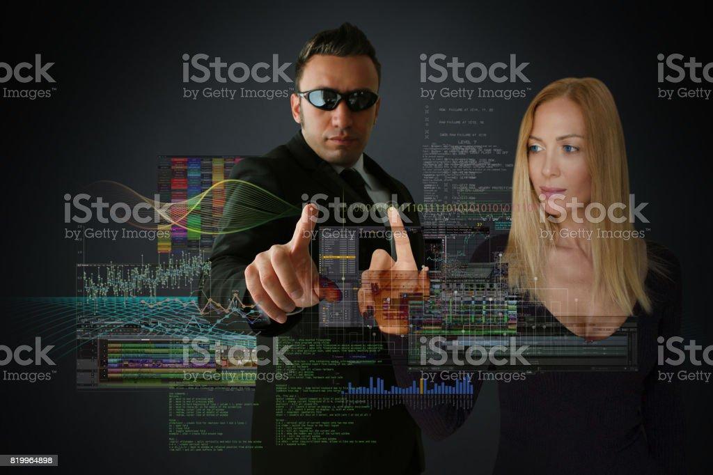 Future of The Businessworld stock photo