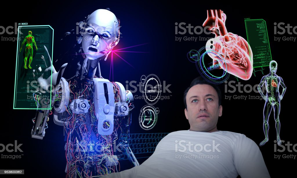 Future of The Health Industry stock photo