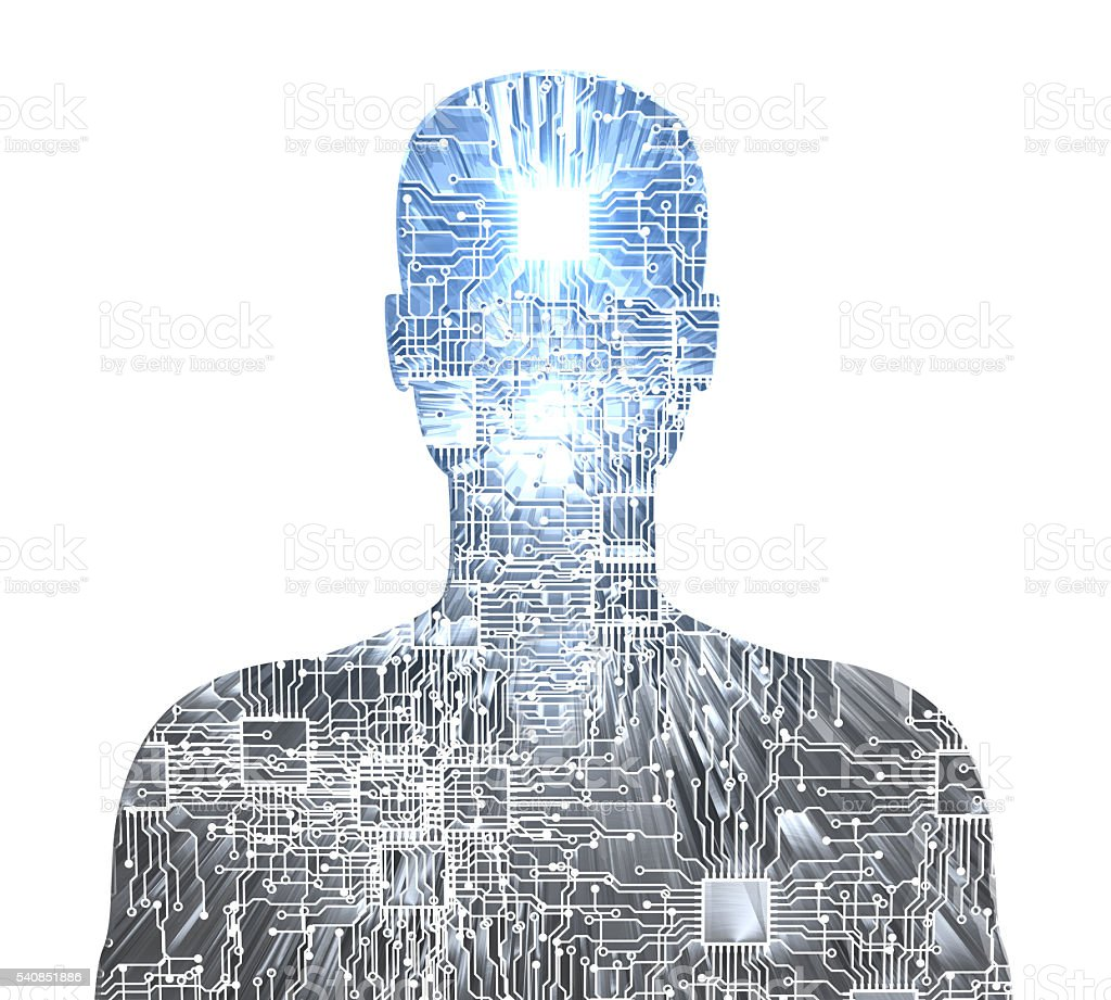 Future of The Humanity stock photo