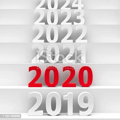 1078175310 istock photo 2020 future pedestal #3 1194785695