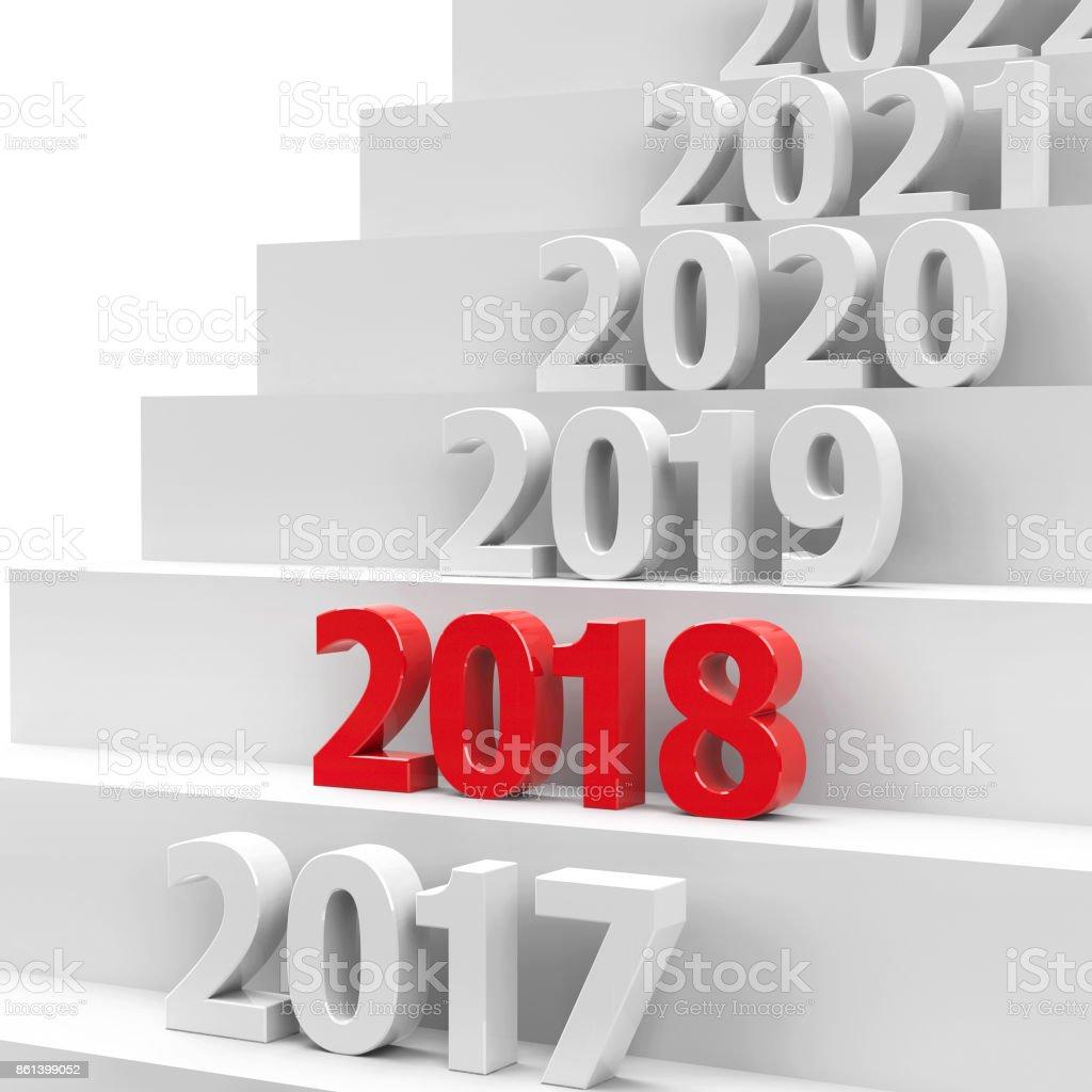 2018 future pedestal #2 stock photo