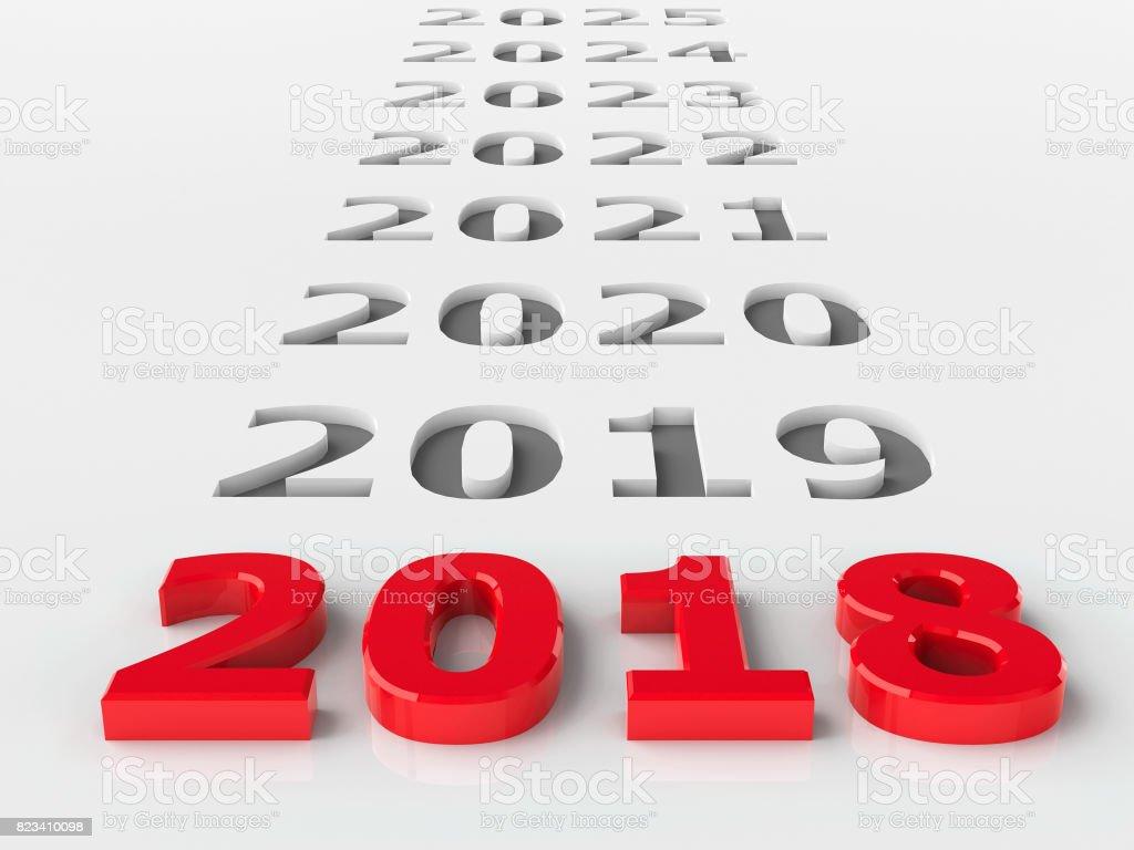 2018 future stock photo