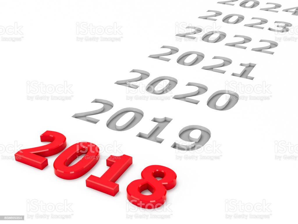 2018 future #2 stock photo