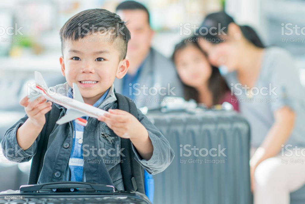 Future Pilot stock photo