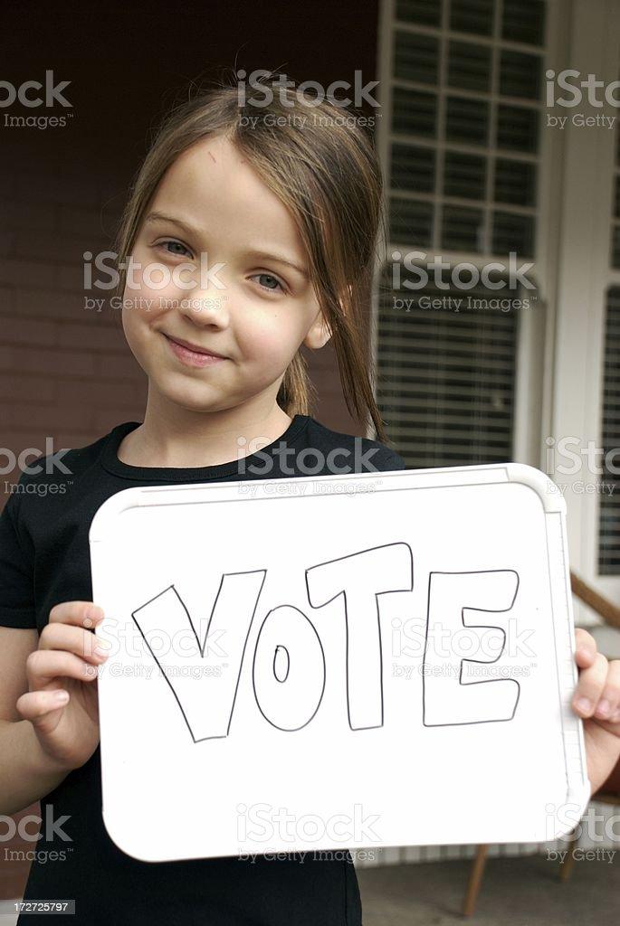 Future Politician royalty-free stock photo