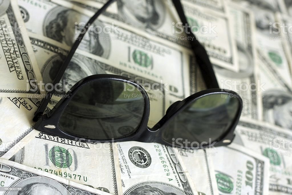 Future So Bright - Cash Background stock photo