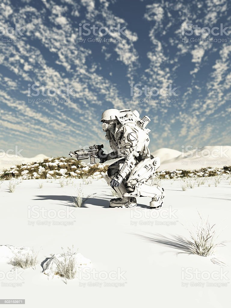 Future Soldier, Snow Patrol stock photo