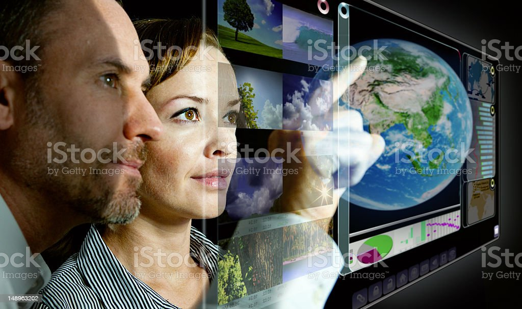 Future Teamwork royalty-free stock photo