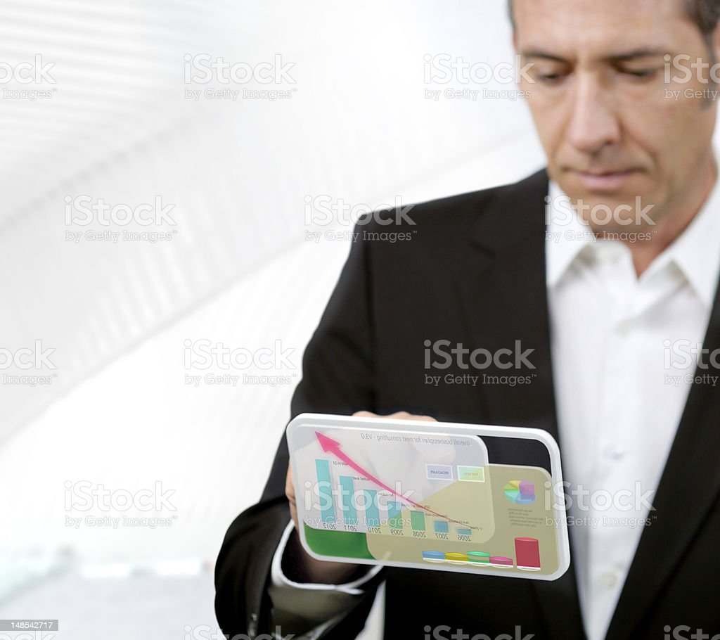 Future Technology royalty-free stock photo