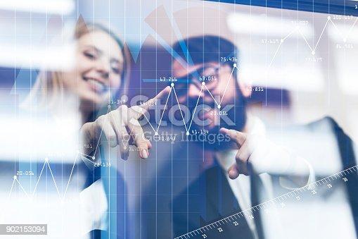 istock Future technology, touchscreen display interface. 902153094