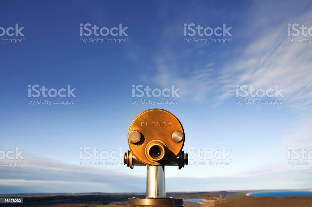Future Telescope stock photo