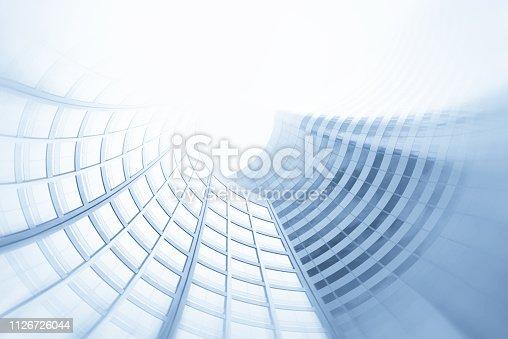 Abstract Futuristic Architecture