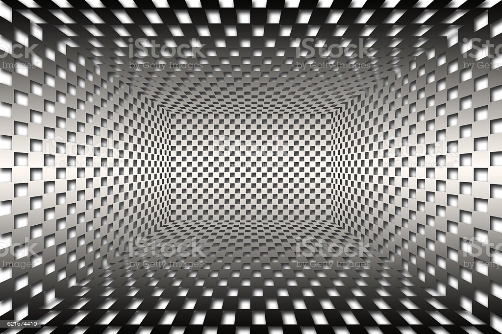 Futuristic Abstract Background with cubes pattern photo libre de droits