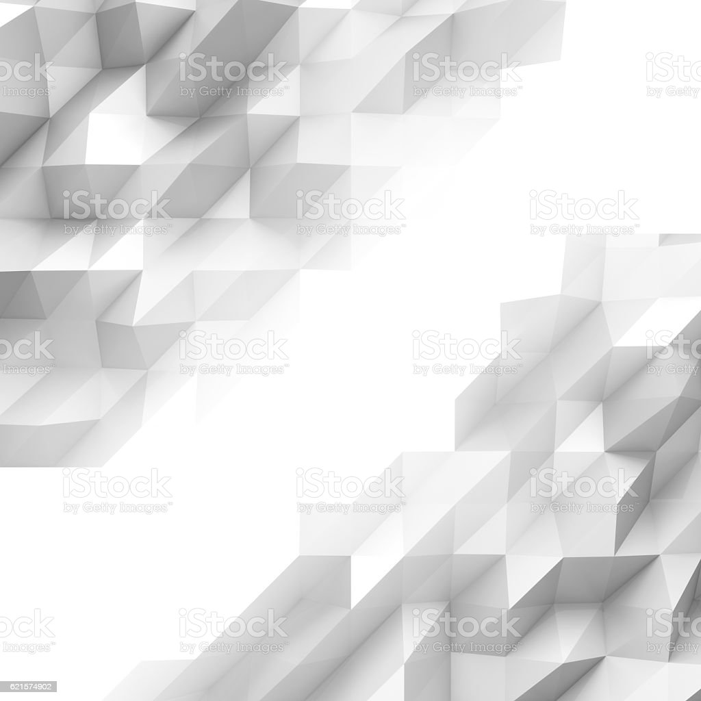 Futuristic Abstract Background with triangle pattern photo libre de droits