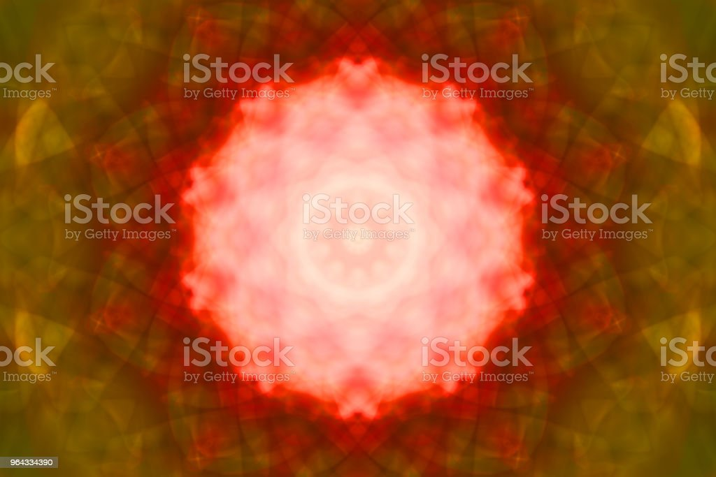 Futuristic abstract red pattern stock photo