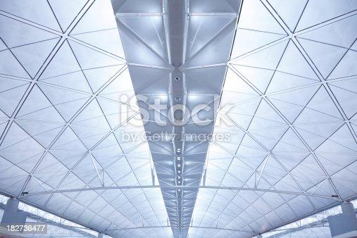 istock Futuristic Airport Roof 182736477