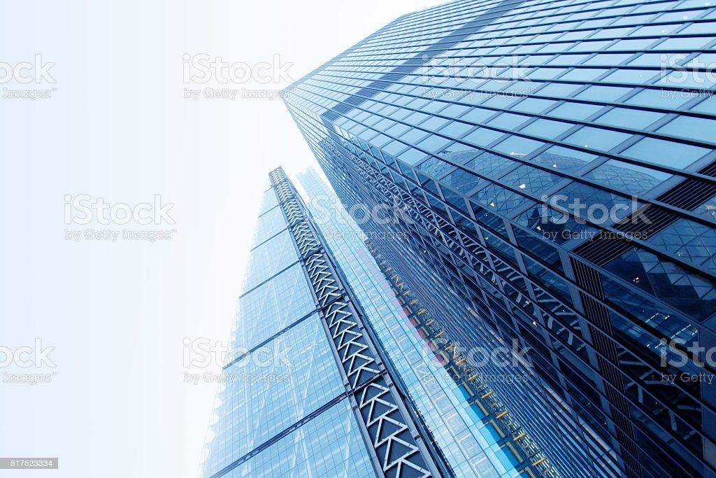 Futuristic Architecture in London stock photo