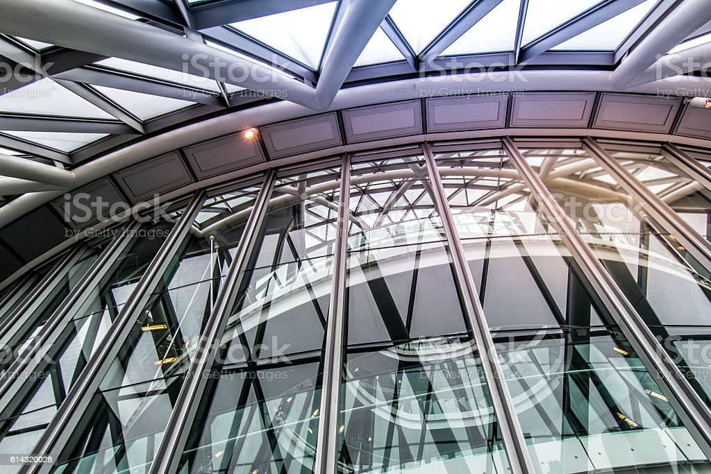Futuristic Architecture of London City Hall - Photo