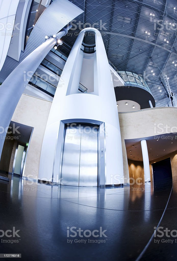 Futuristic Architecture royalty-free stock photo