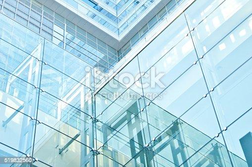 istock Futuristic Architecture 519832560