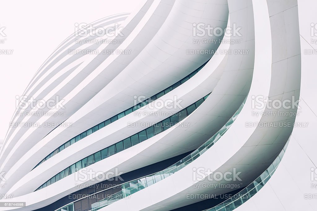 Futuristic architecture foto