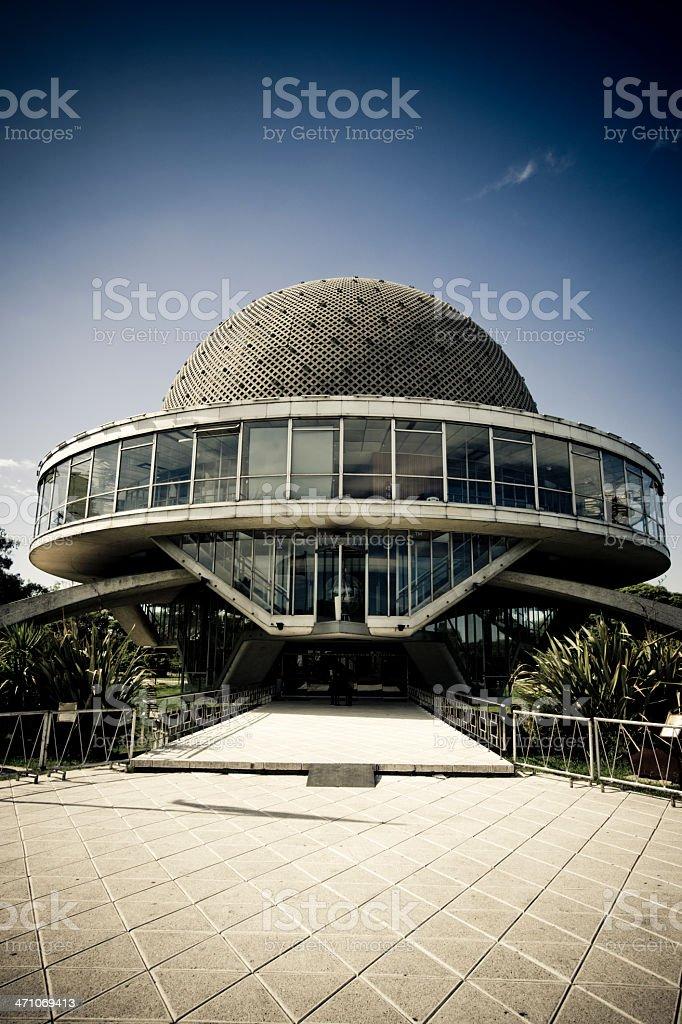 Futuristic Architecture Planetarium royalty-free stock photo
