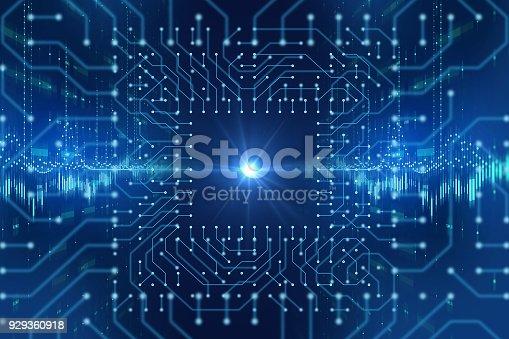 istock futuristic blue circuit pattern abstract background illustration 929360918