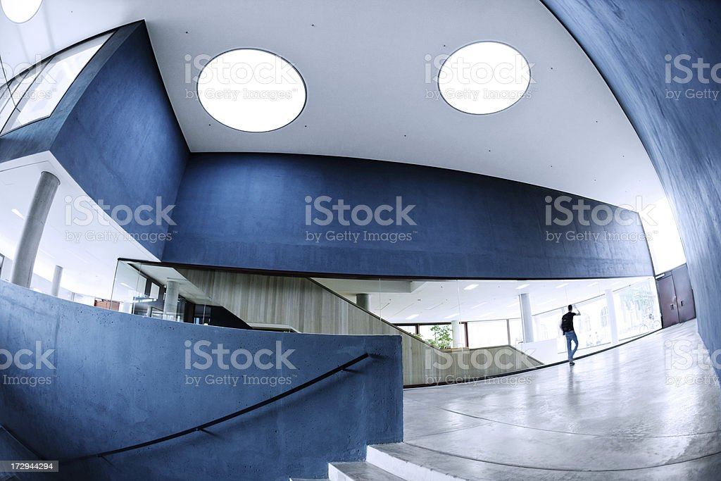 Futuristic Building stock photo