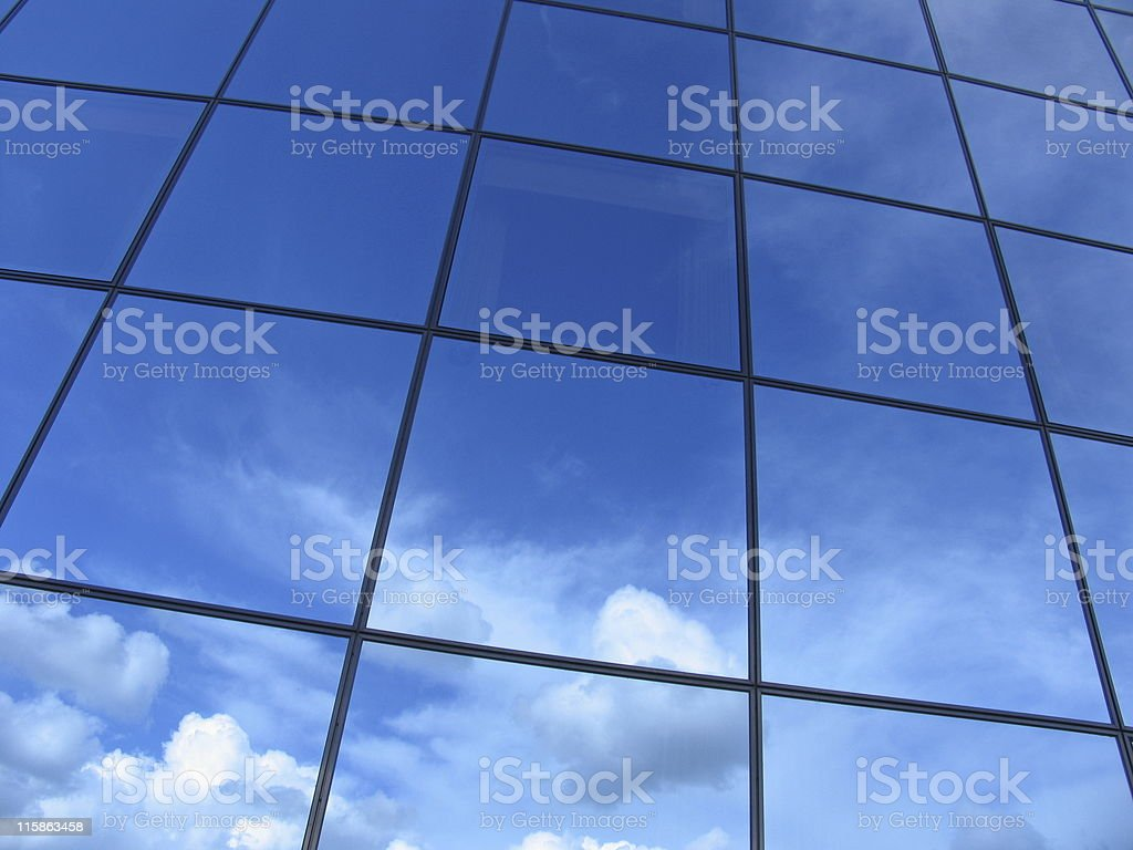 Futuristic business building #2 royalty-free stock photo