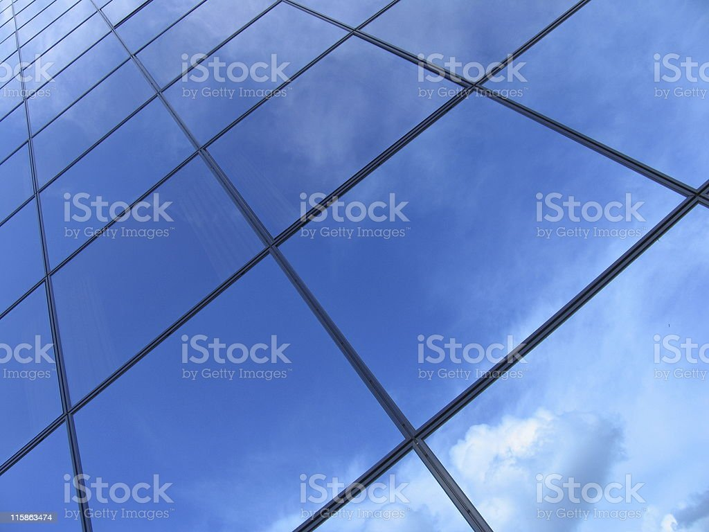 Futuristic business building #3 royalty-free stock photo