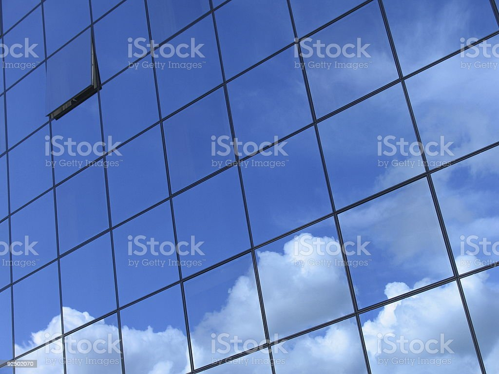 Futuristic business building #4 royalty-free stock photo