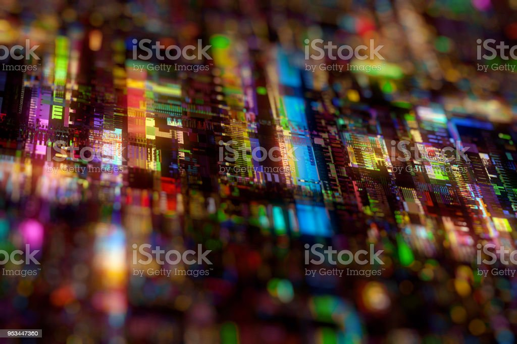 futuristic circuit board technology background stock photo