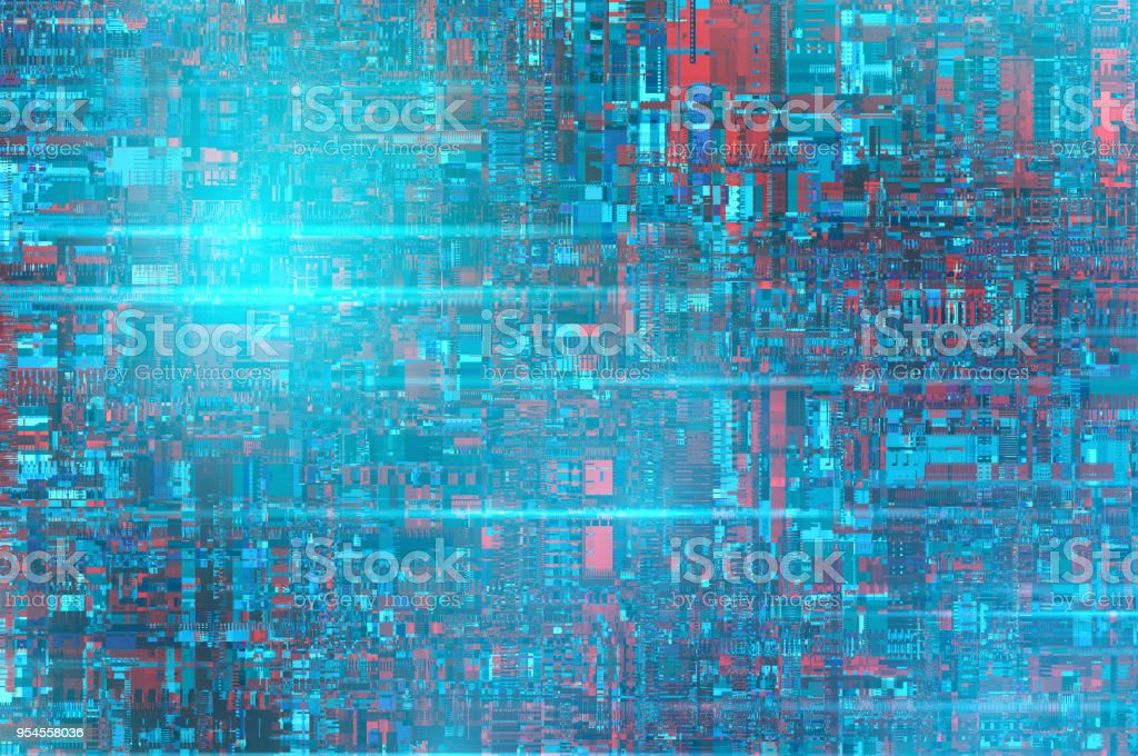 Futuristic Circuit Board technology backgrounds stock photo
