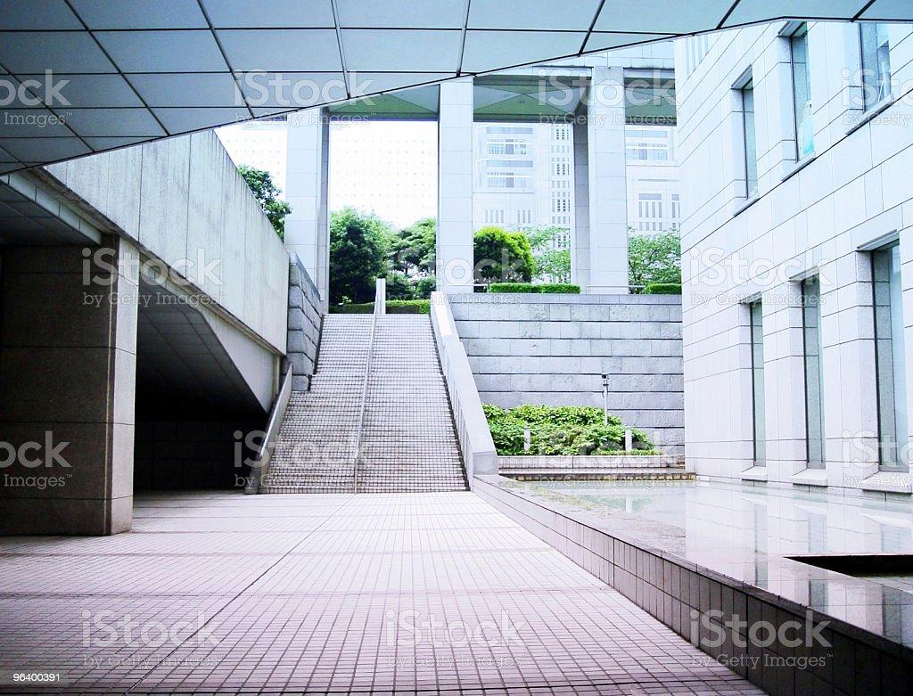 Futuristic city - Royalty-free Abstract Stock Photo