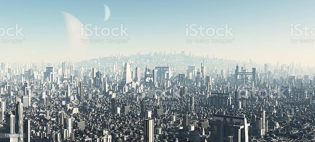 Futuristic Cityscape stock photo