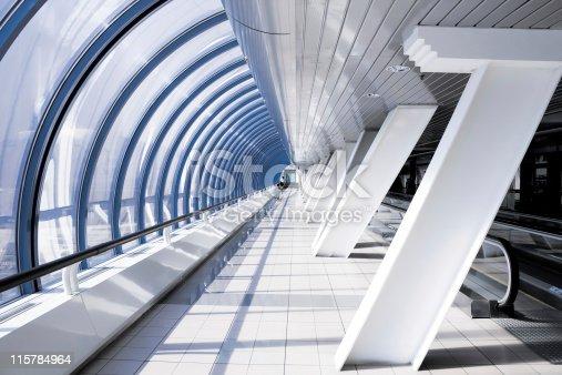 istock futuristic corridor 115784964
