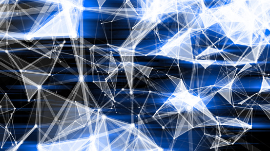952039816 istock photo Futuristic digital blockchain background 1125864046
