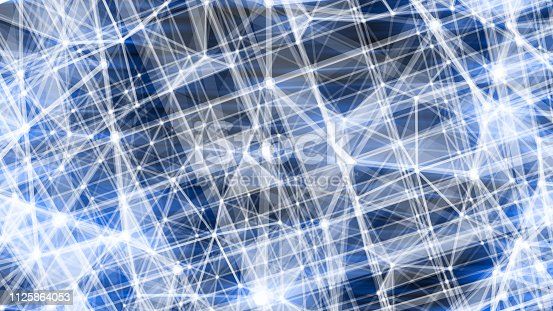 istock Futuristic digital blockchain background 1125864053