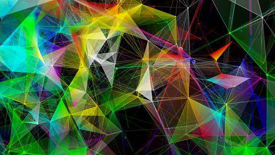 952039816 istock photo Futuristic digital blockchain background 1125864101
