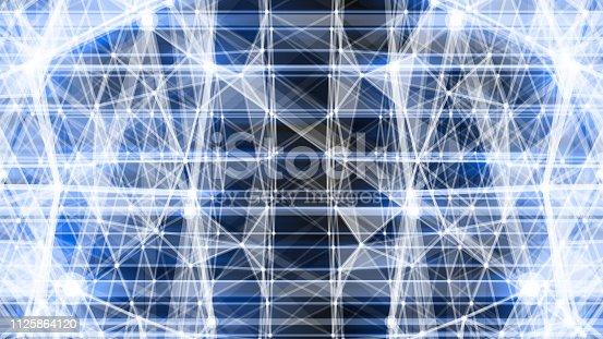 istock Futuristic digital blockchain background 1125864120