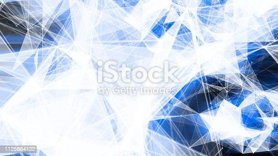 istock Futuristic digital blockchain background 1125864122