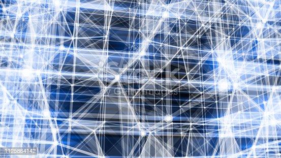 istock Futuristic digital blockchain background 1125864142