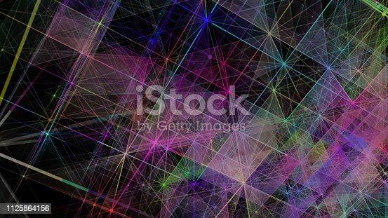 istock Futuristic digital blockchain background 1125864156