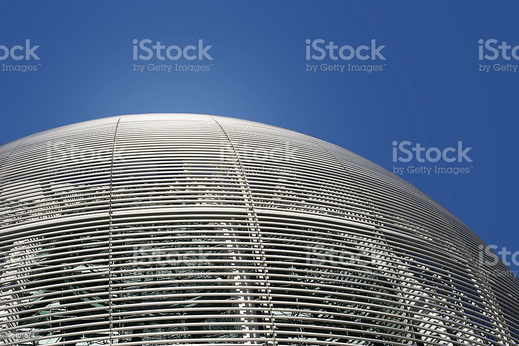 Futuristic dome details - Royalty-free Abstract Stock Photo